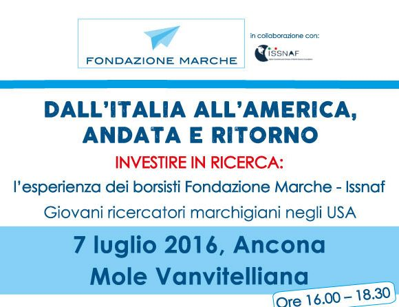 "Conference ""Italy to America, round trip"""